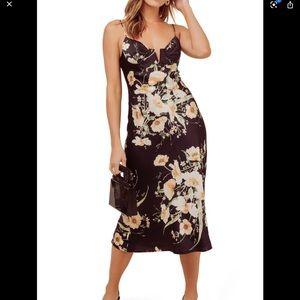 ASTR the Label Coralie Midi Dress Size XS #50